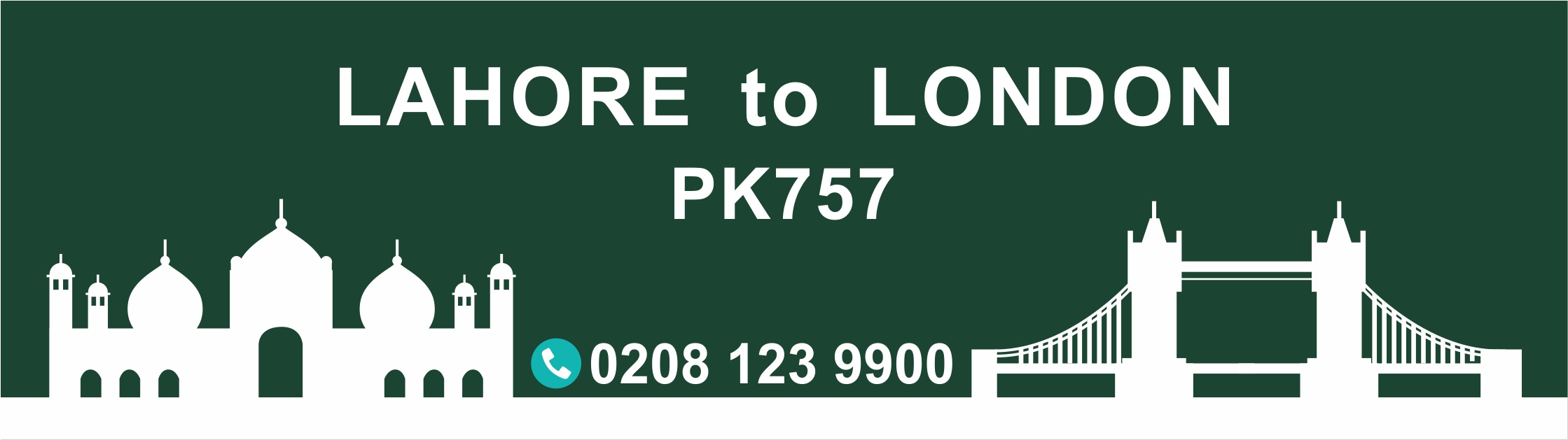 Lahore to London PIA flight PK757 Arrival Time