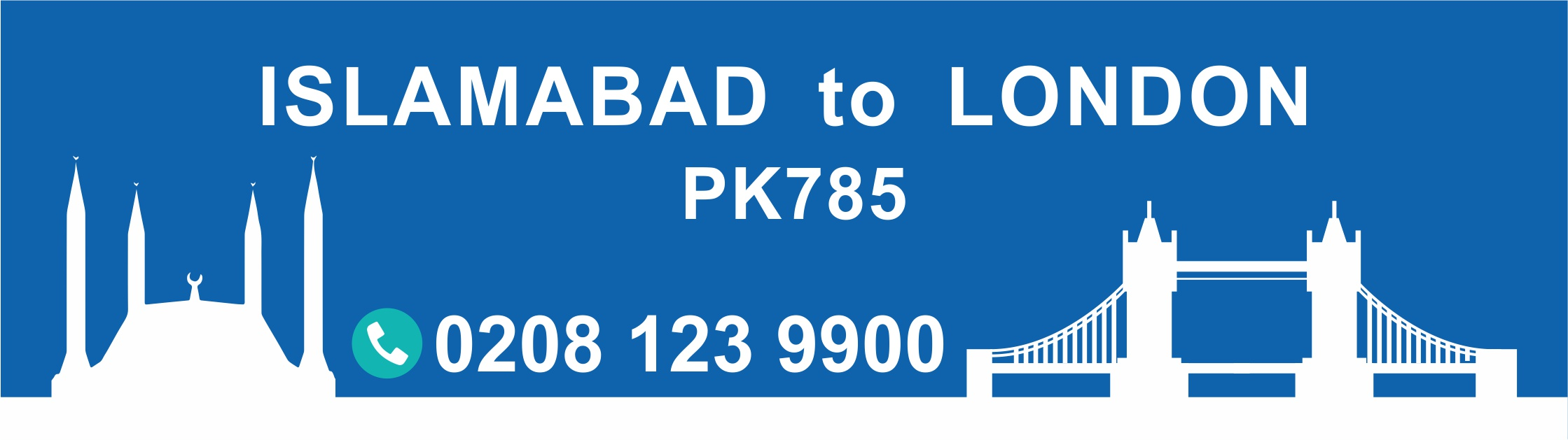 Islamabad to London PIA flight PK785 Arrival Time