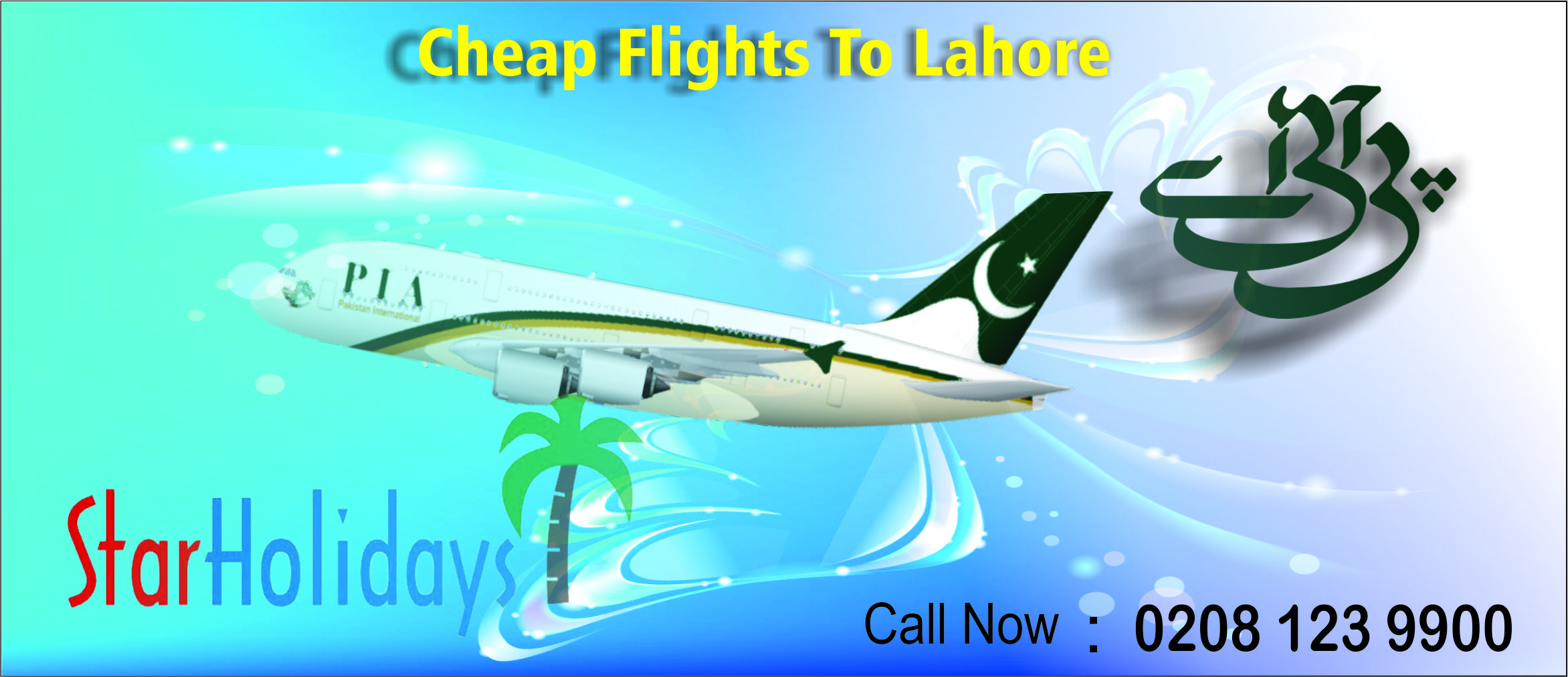 Book Cheap PIA Flights to Lahore