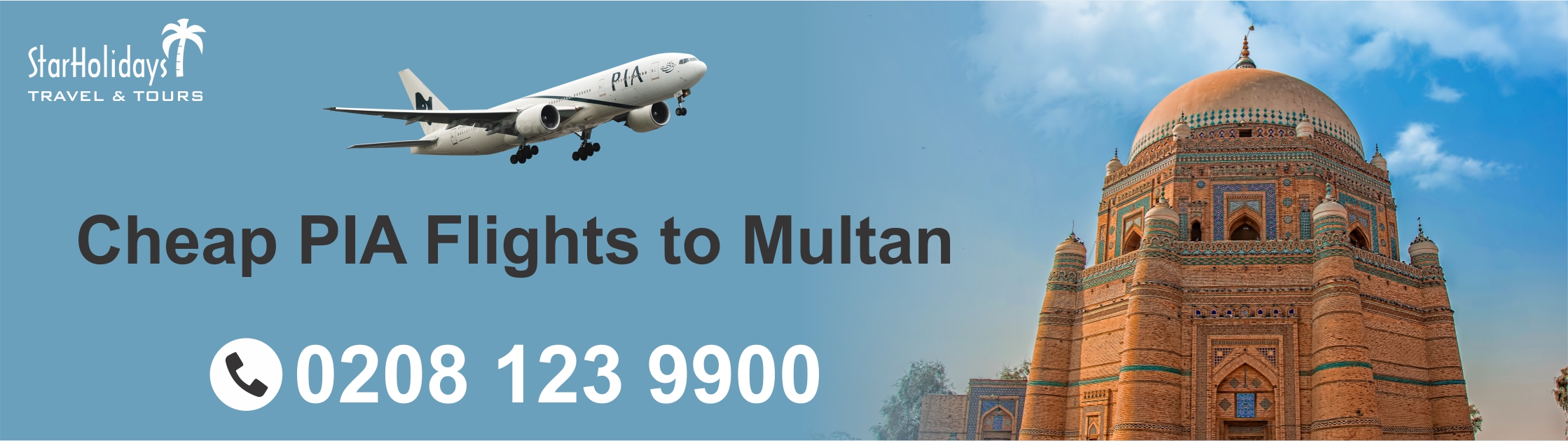 Cheap PIA Flights to Multan