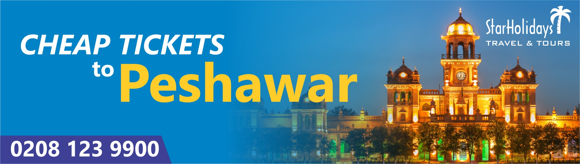 Cheap Tickets to Peshawar